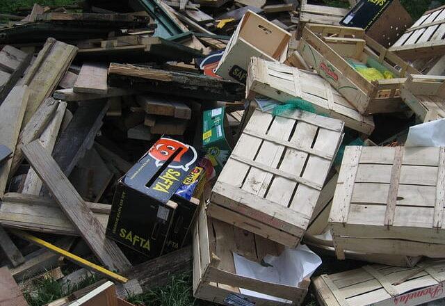 Rifiuti a base legnosa: come realizzare raccolta e smaltimento
